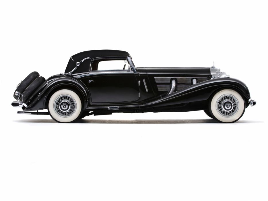 1935 Mercedes Benz 500K Cabriolet A luxury retro   g wallpaper