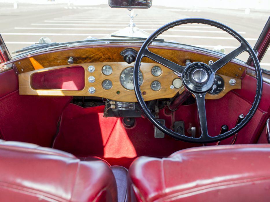 1937 Rolls Royce Wingham 4-door Cabriolet Martin Walter luxury retro interior    g wallpaper