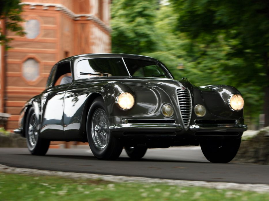 1949 Alfa Romeo 6-C 2500 Villa d-Este Coupe retro  e wallpaper