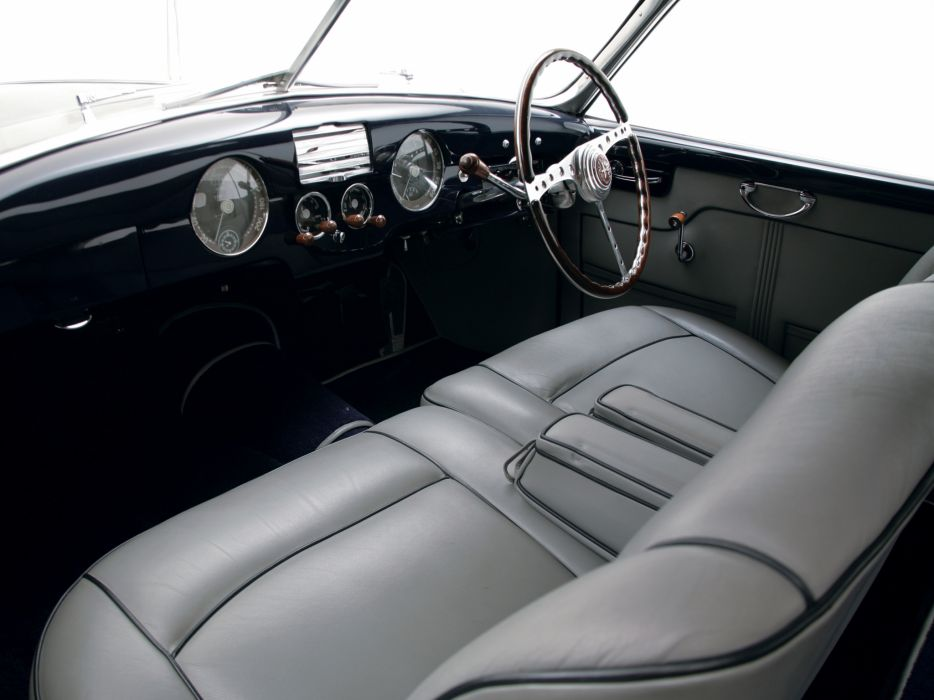 1949 Alfa Romeo 6-C 2500 Villa d-Este Coupe retro interior     f wallpaper