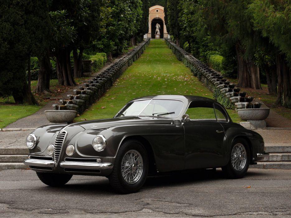 1949 Alfa Romeo 6-C 2500 Villa d-Este Coupe retro       g wallpaper
