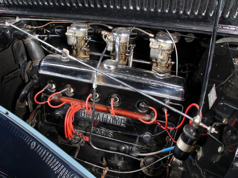 1949 Delahaye 135 M Cabriolet Guillore retro luxury engine    g wallpaper