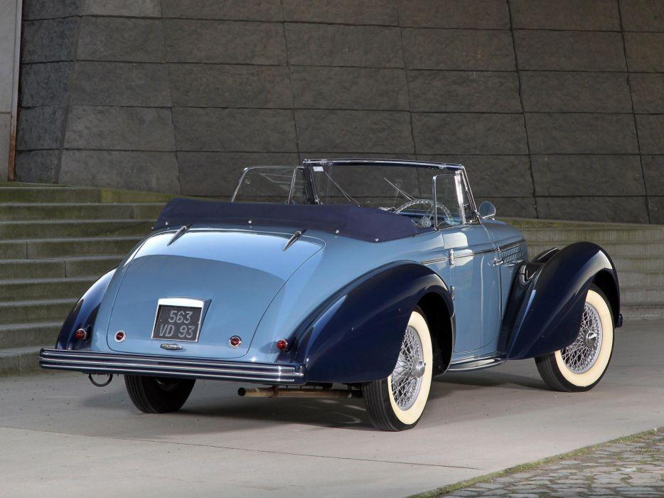 1949 Delahaye 135 M Cabriolet Guillore retro luxury     g wallpaper