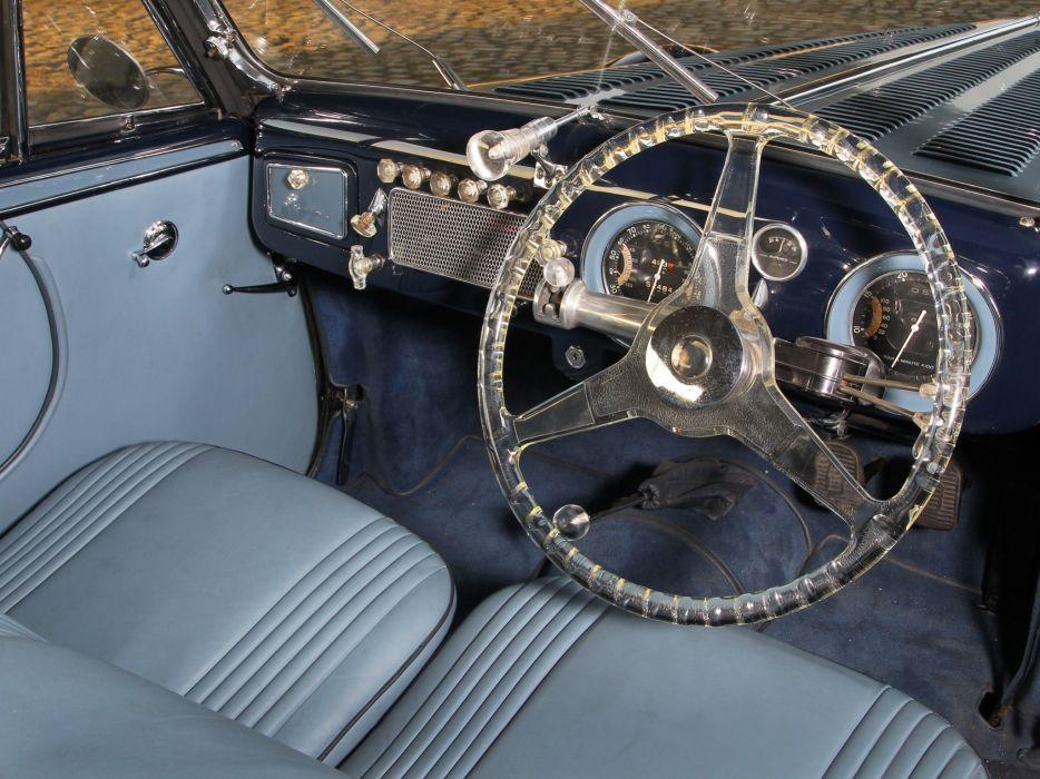 1949 Delahaye 135 M Cabriolet Guillore retro luxury interior     g wallpaper