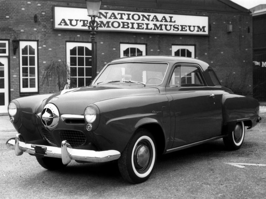 1950 Studebaker Champion Regal DeLuxe Starlight Coupe (9G-C5) retro     g wallpaper