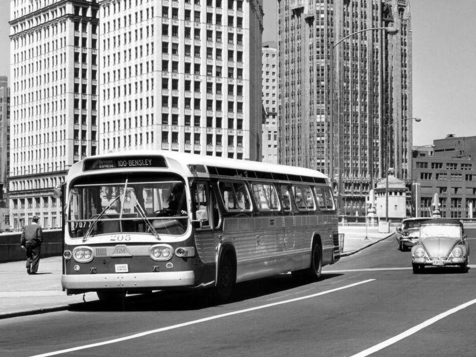 1963 GM TDH-4519 transport bus classic general motors b wallpaper