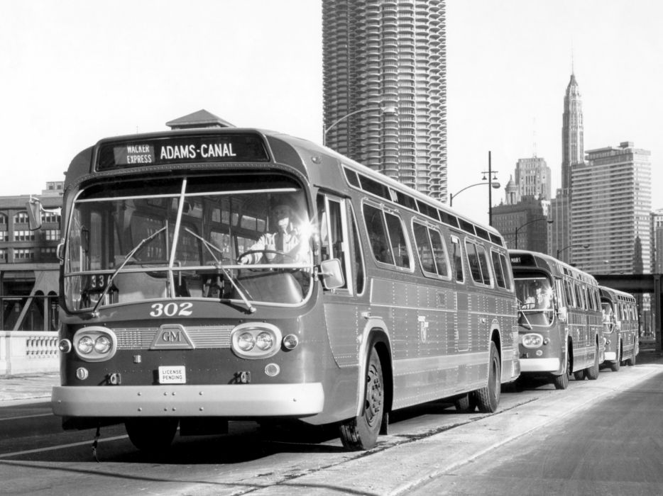 1963 GM TDH-4519 transport bus classic general motors z wallpaper