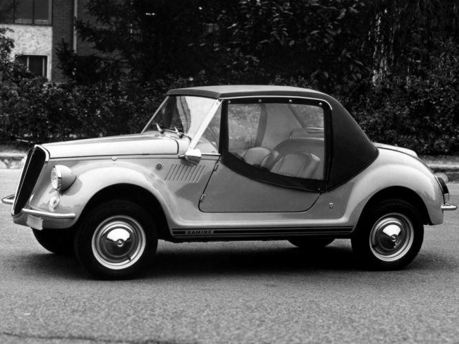 1967 Fiat 500 Gamine classic h wallpaper