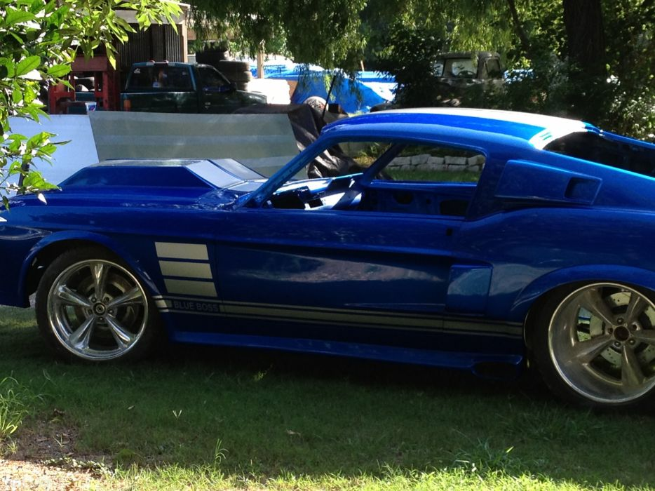 1967 Ford Mustang Fastback hot rod rods classic muscle custom tuning (4) wallpaper