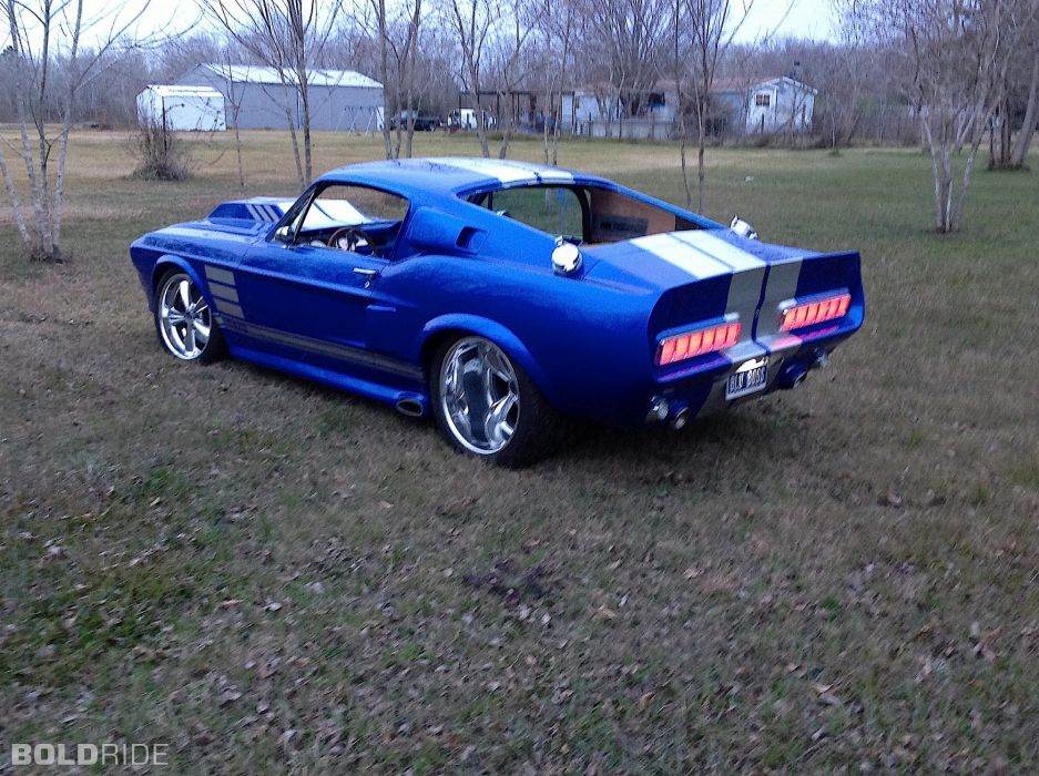 1967 Ford Mustang Fastback hot rod rods classic muscle custom tuning (6) wallpaper