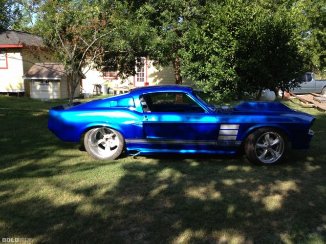 1967 Ford Mustang Fastback hot rod rods classic muscle custom tuning (2) wallpaper