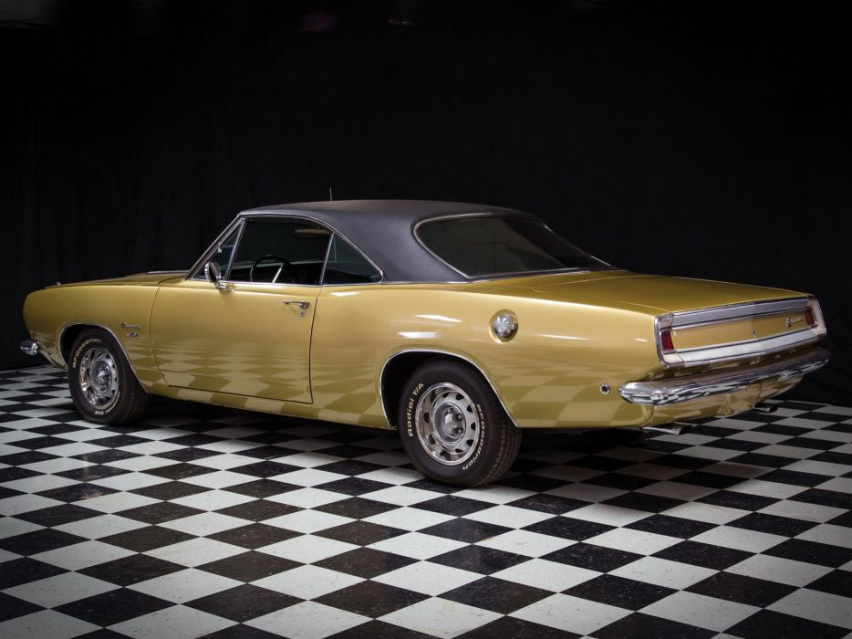 1968 Plymouth Barracuda Hardtop (BH23) muscle classic cuda     f wallpaper