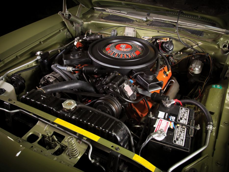 1971 Plymouth Barracuda 440 muscle classic cuda engine     g wallpaper