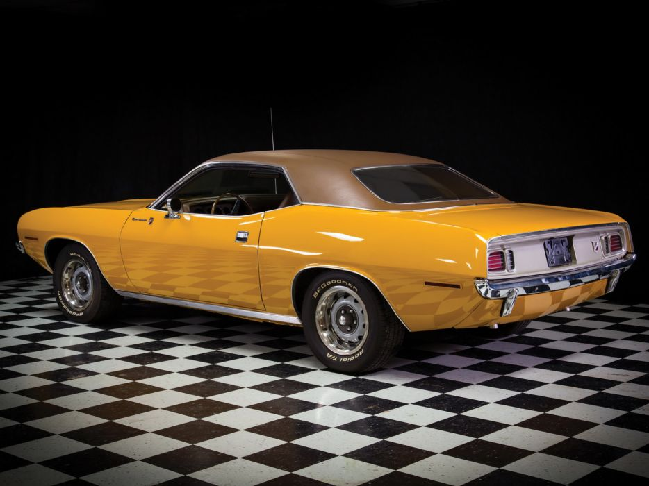 1971 Plymouth Barracuda Gran Coupe cuda muscle classic   f wallpaper