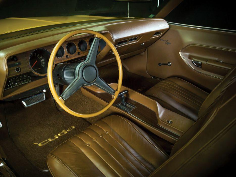 1971 Plymouth Barracuda Gran Coupe cuda muscle classic interior     g wallpaper