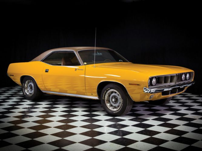 1971 Plymouth Barracuda Gran Coupe cuda muscle classic g wallpaper