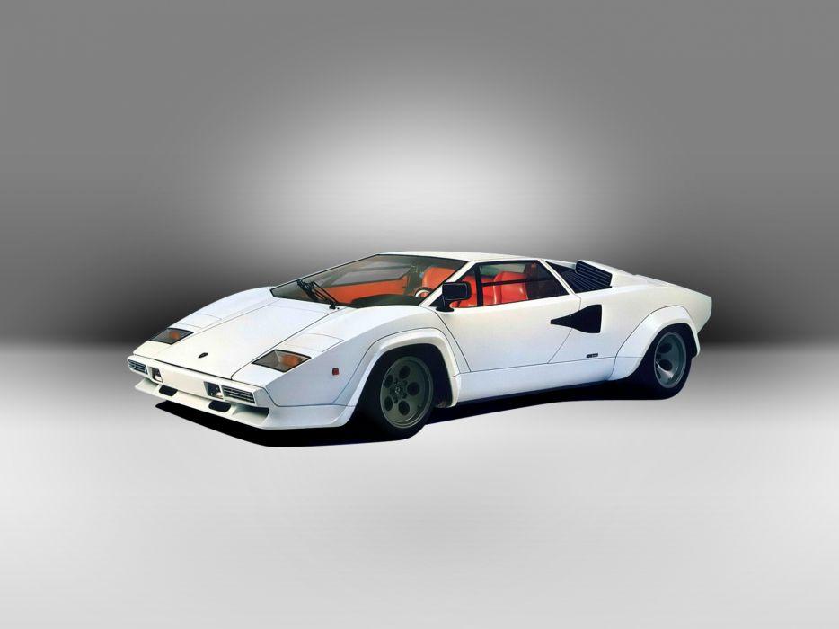 1978 Lamborghini Countach LP400 S supercar    g wallpaper