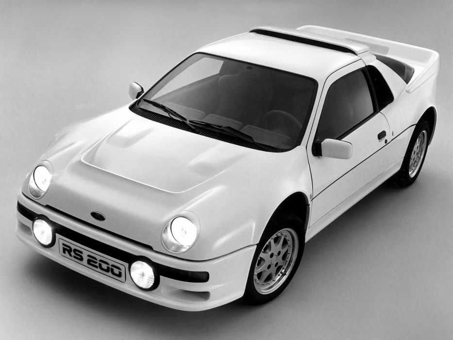 1984 Ford RS200    f wallpaper