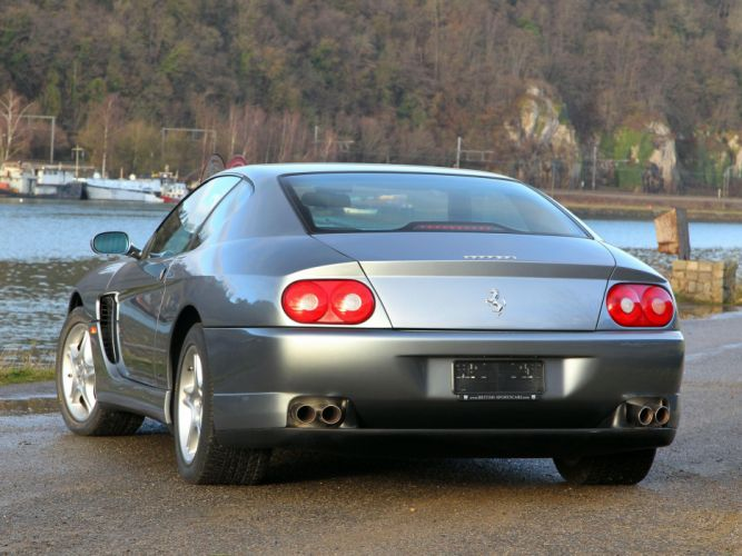 1998-03 Ferrari 456 M G-T supercar 1998 2003 dw wallpaper
