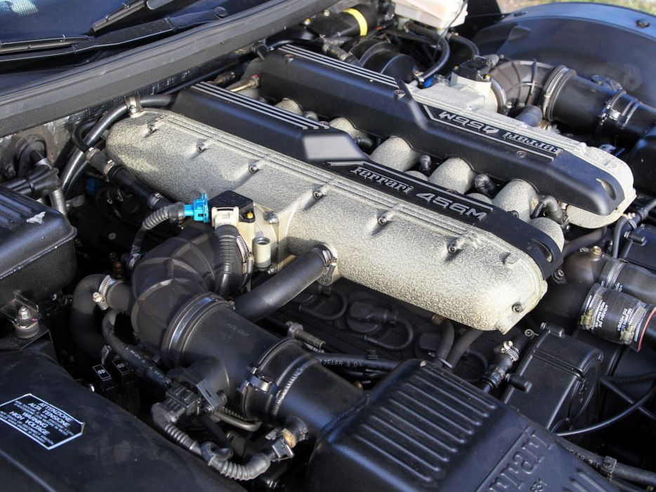1998-03 Ferrari 456 M G-T supercar 1998 2003 engine      f wallpaper