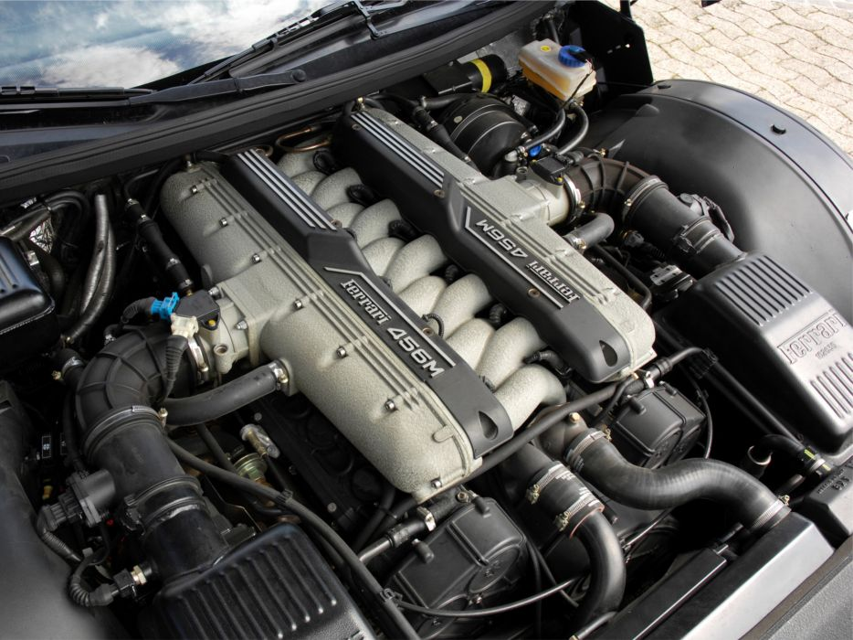1998-03 Ferrari 456 M G-T supercar 1998 2003 engine  s wallpaper