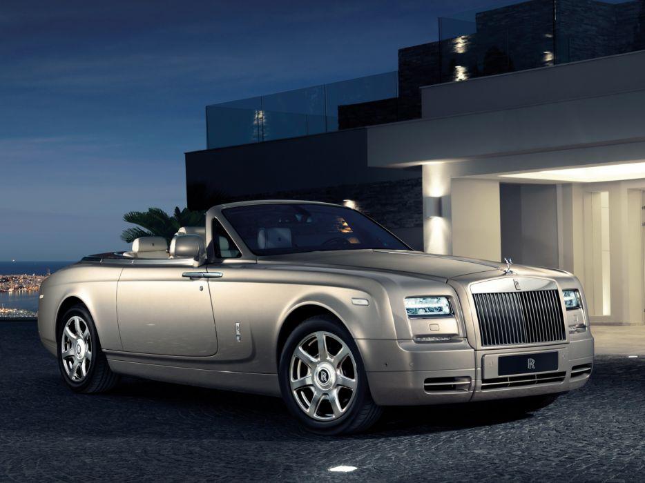 2012 Rolls Royce Phantom Drophead Coupe luxury    h wallpaper