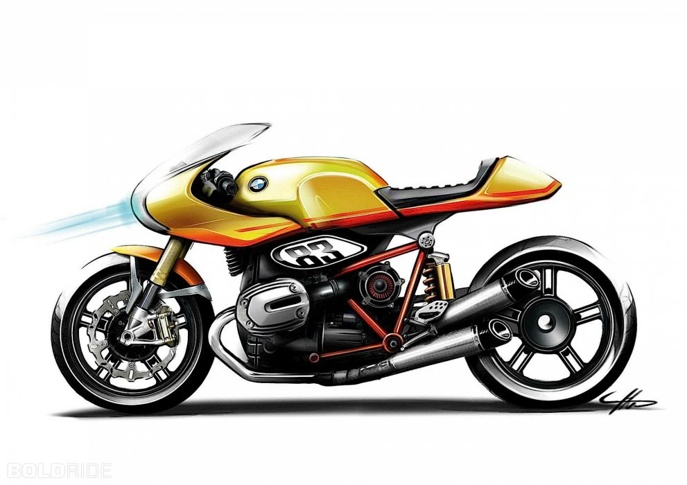 2013 BMW Concept Ninety motorbike bike (15) wallpaper