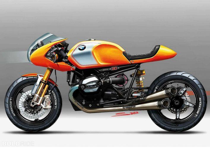 2013 BMW Concept Ninety motorbike bike (14) wallpaper