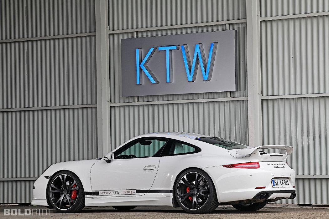 2013 KTW-Tuning Porsche 991 Carrera S 911 supercar tuning (8) wallpaper