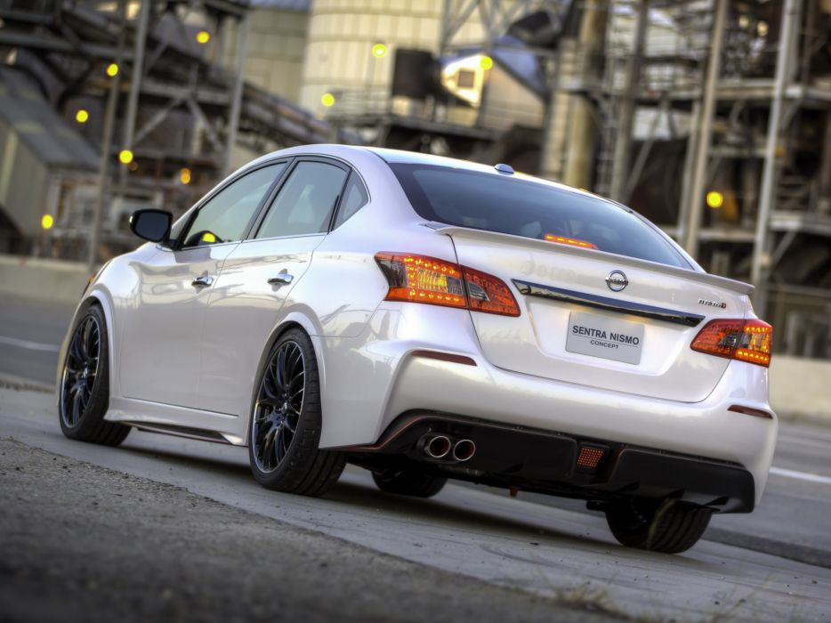 2013 Nissan Sentra Nismo Concept B17 Tuning 3