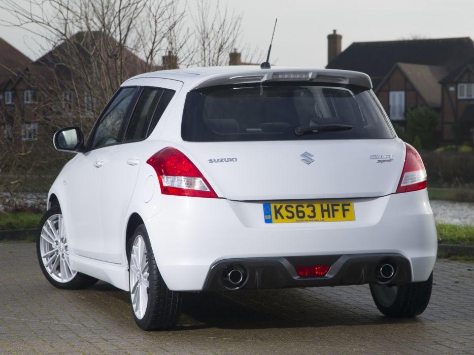 2013 Suzuki Swift Sport 5-door UK-spec j wallpaper