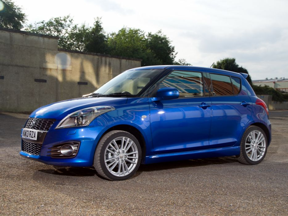 2013 Suzuki Swift Sport 5-door UK-spec     g wallpaper