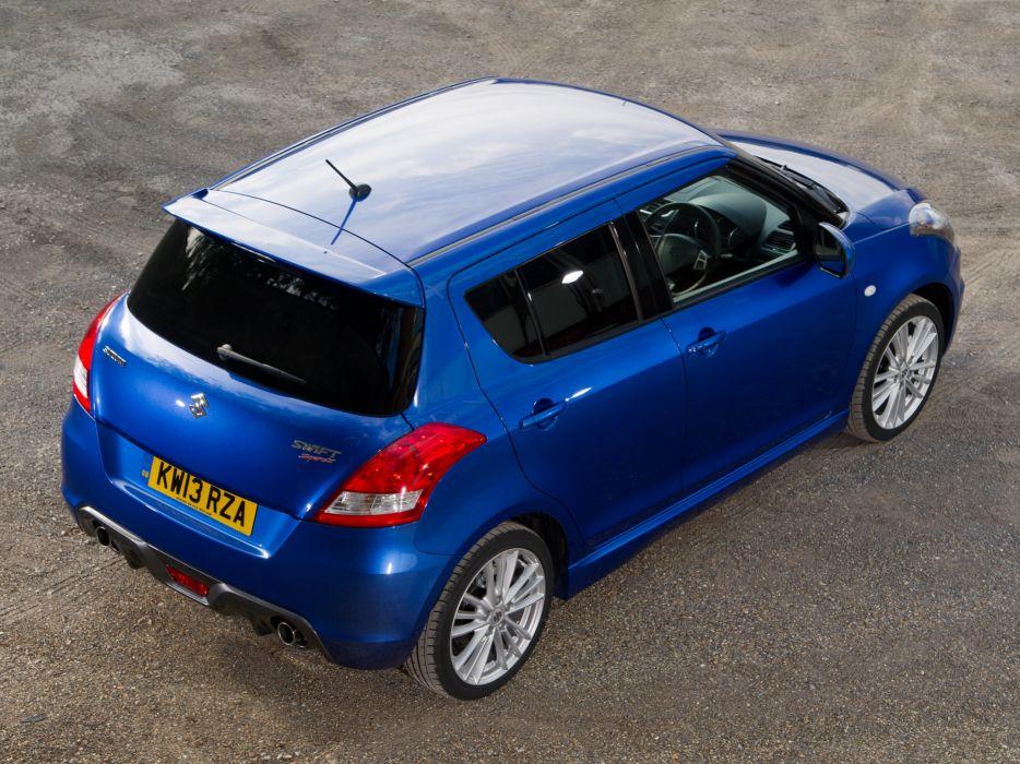 2013 Suzuki Swift Sport 5-door UK-spec   t wallpaper