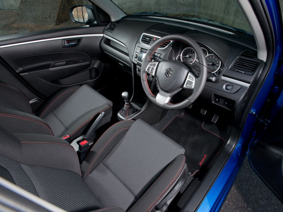 2013 Suzuki Swift Sport 5-door UK-spec interior f wallpaper ...