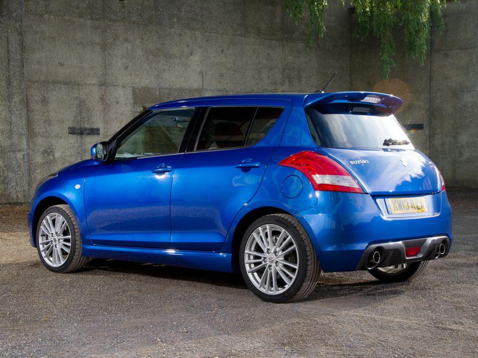 2013 Suzuki Swift Sport 5-door UK-spec  h wallpaper
