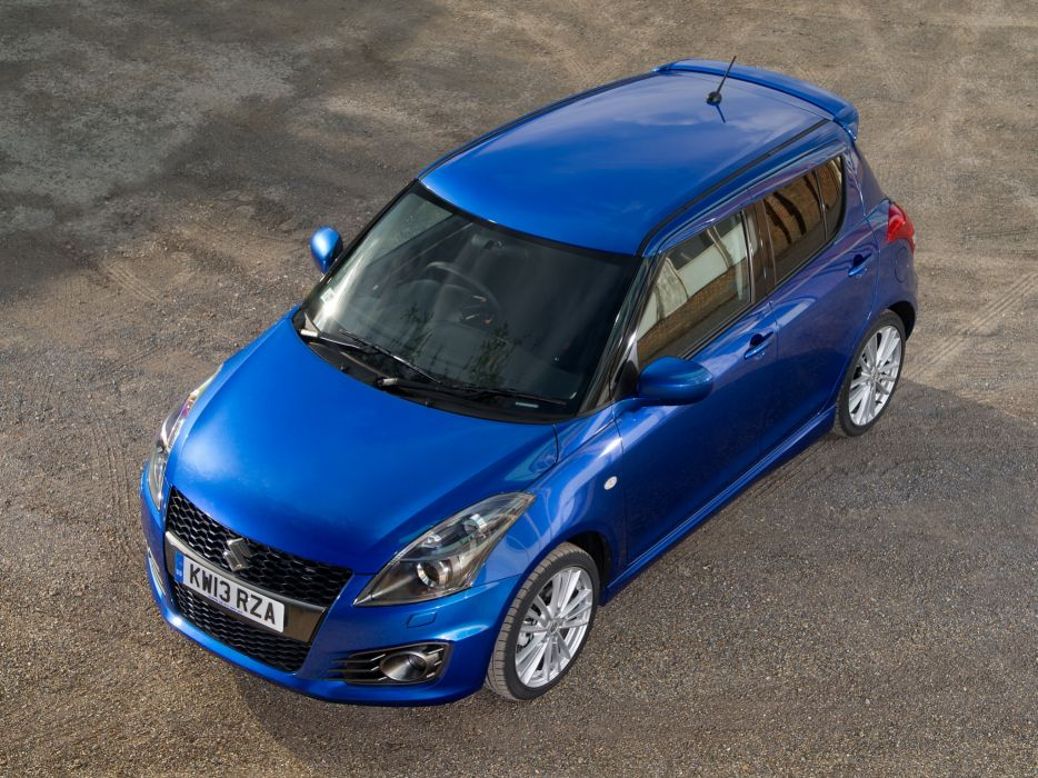 2013 Suzuki Swift Sport 5-door UK-spec  u wallpaper