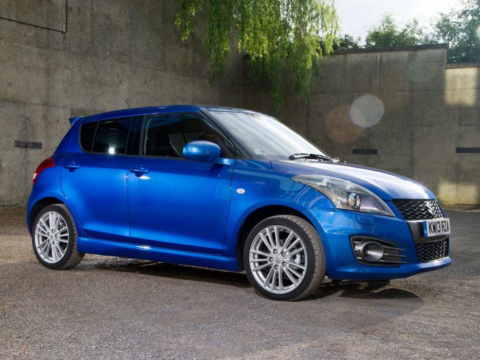 2013 Suzuki Swift Sport 5-door UK-spec  hd wallpaper
