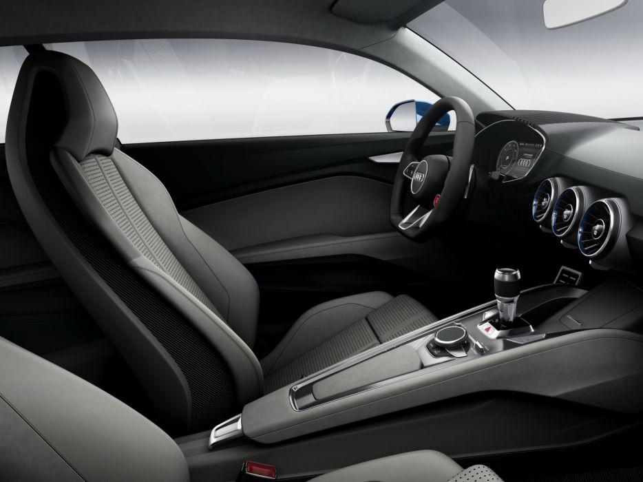 2014 Audi allroad shooting brake Concept interior  fd wallpaper