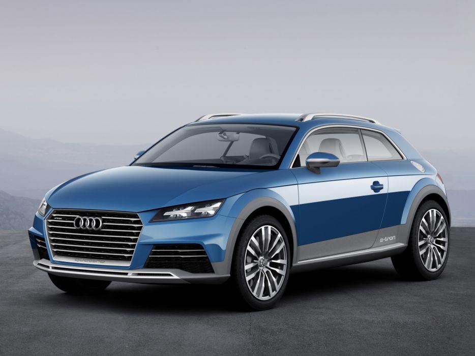 2014 Audi allroad shooting brake Concept f wallpaper