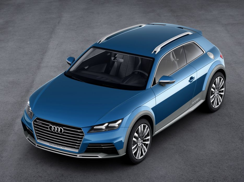 2014 Audi allroad shooting brake Concept   f wallpaper