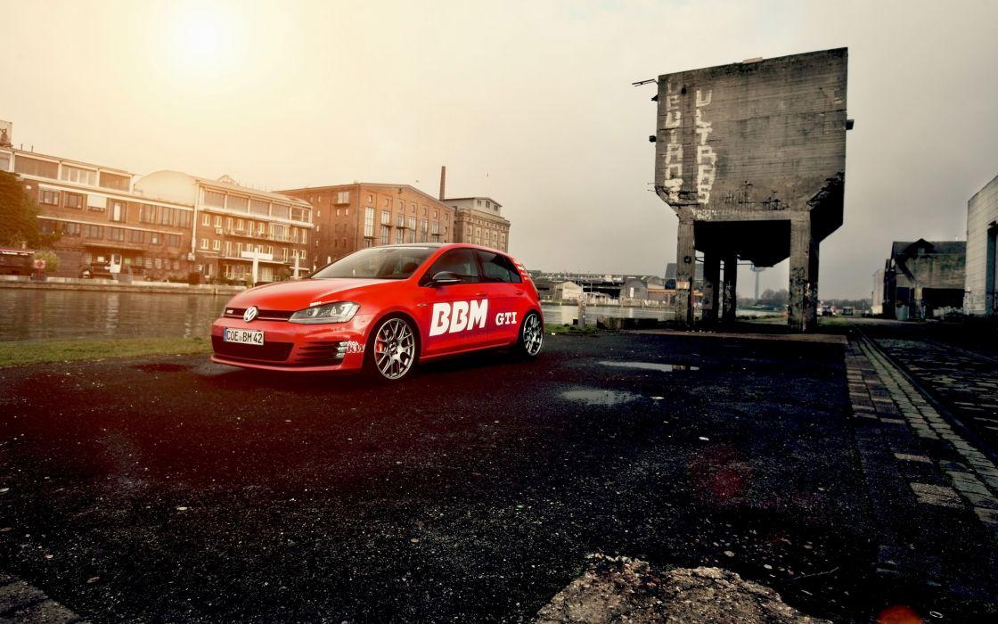 2014 BBM-Motorsport Volkswagen Golf VII GTI tuning   f wallpaper