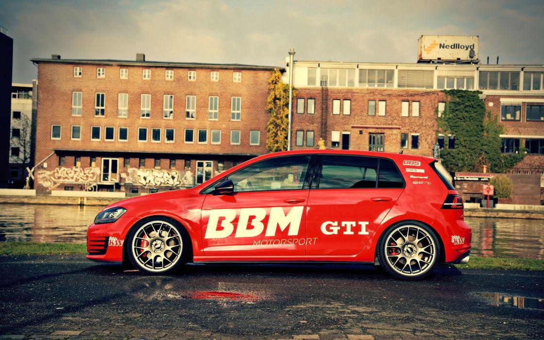 2014 BBM-Motorsport Volkswagen Golf VII GTI tuning  da wallpaper
