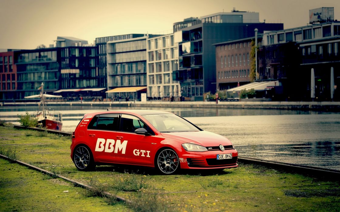 2014 BBM-Motorsport Volkswagen Golf VII GTI tuning  d wallpaper