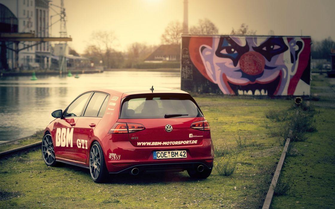 2014 BBM-Motorsport Volkswagen Golf VII GTI tuning  d wallpaper