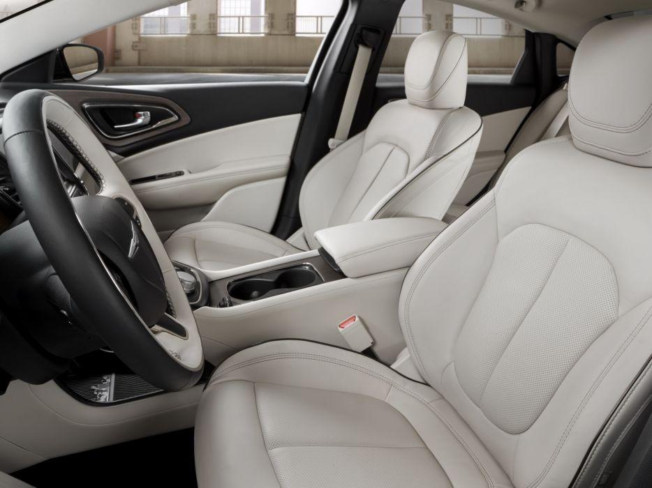 2014 Chrysler 200C luxury interior  h wallpaper
