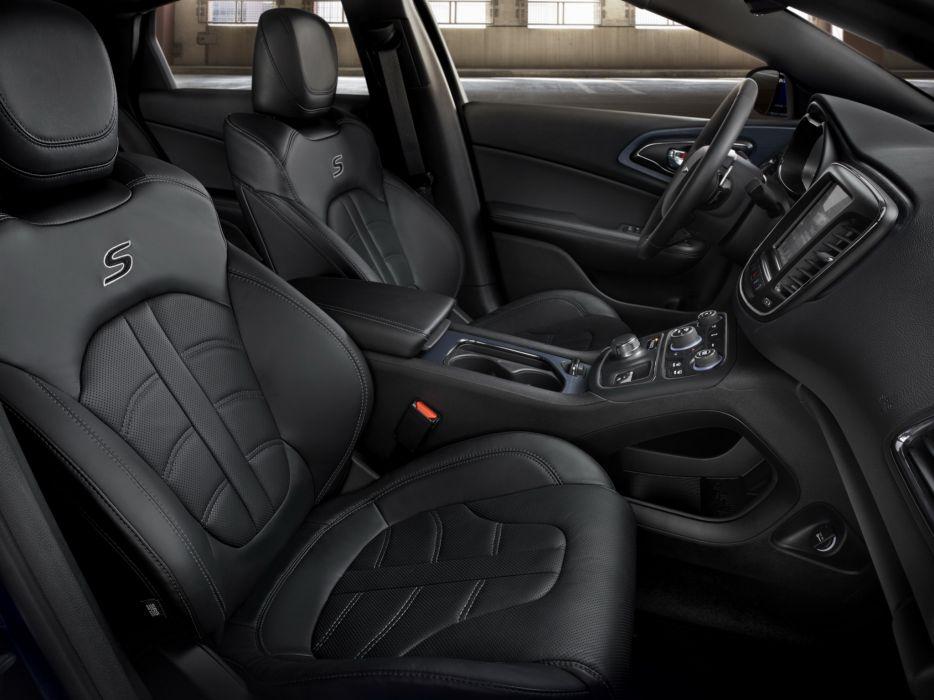 2014 Chrysler 200S interior  h wallpaper