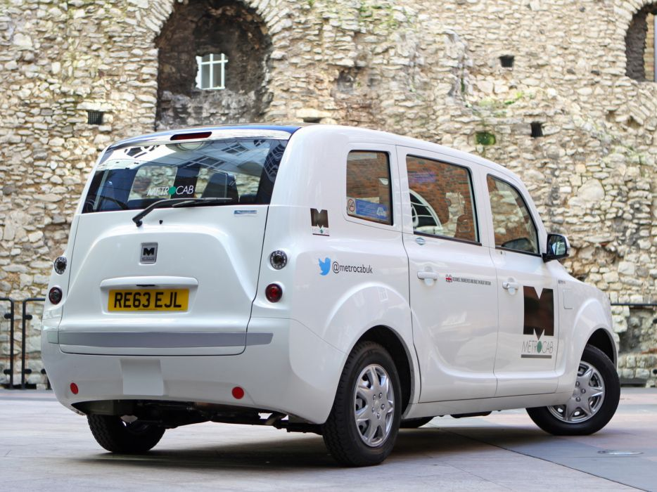 2014 Frazer Nash Metrocab taxi transport  e wallpaper