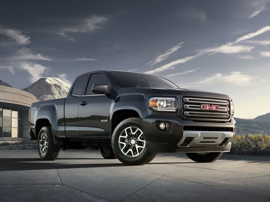 2014 GMC Canyon All Terrain Extended Cab pickup  j wallpaper