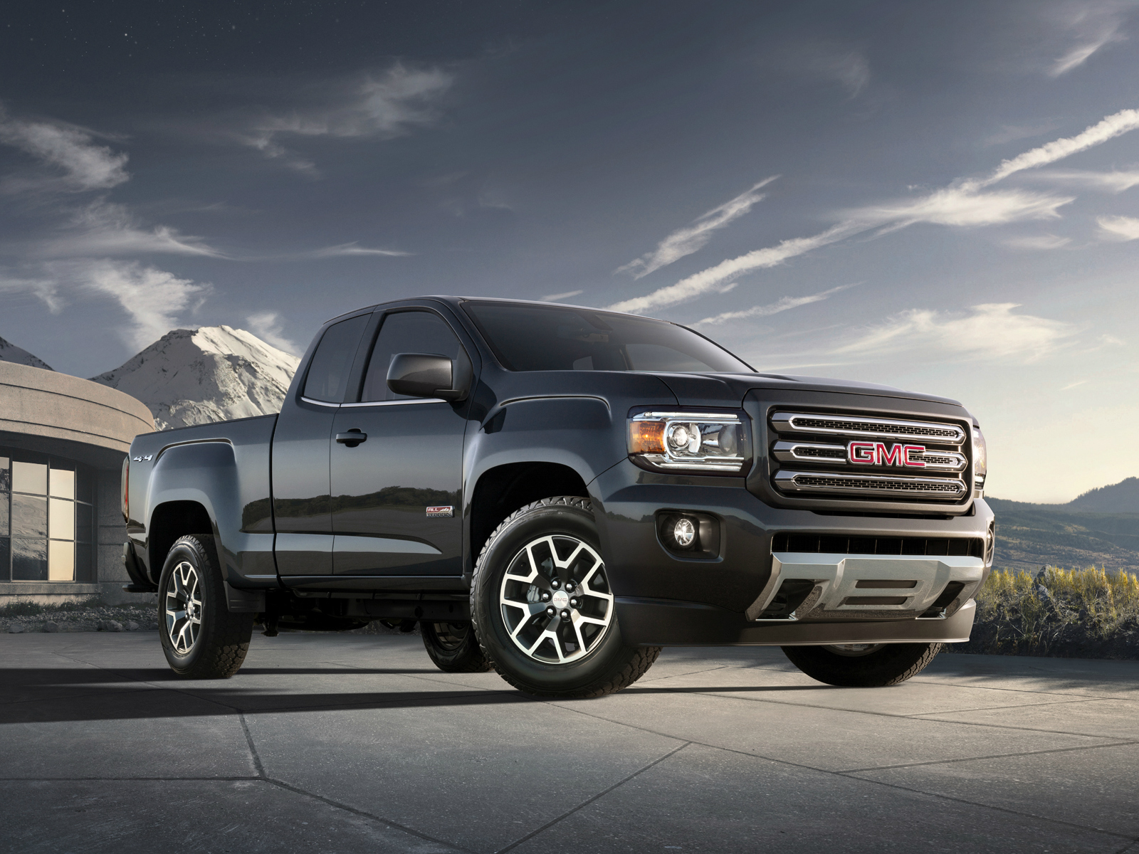 2014 gmc canyon all terrain extended cab pickup j. Black Bedroom Furniture Sets. Home Design Ideas