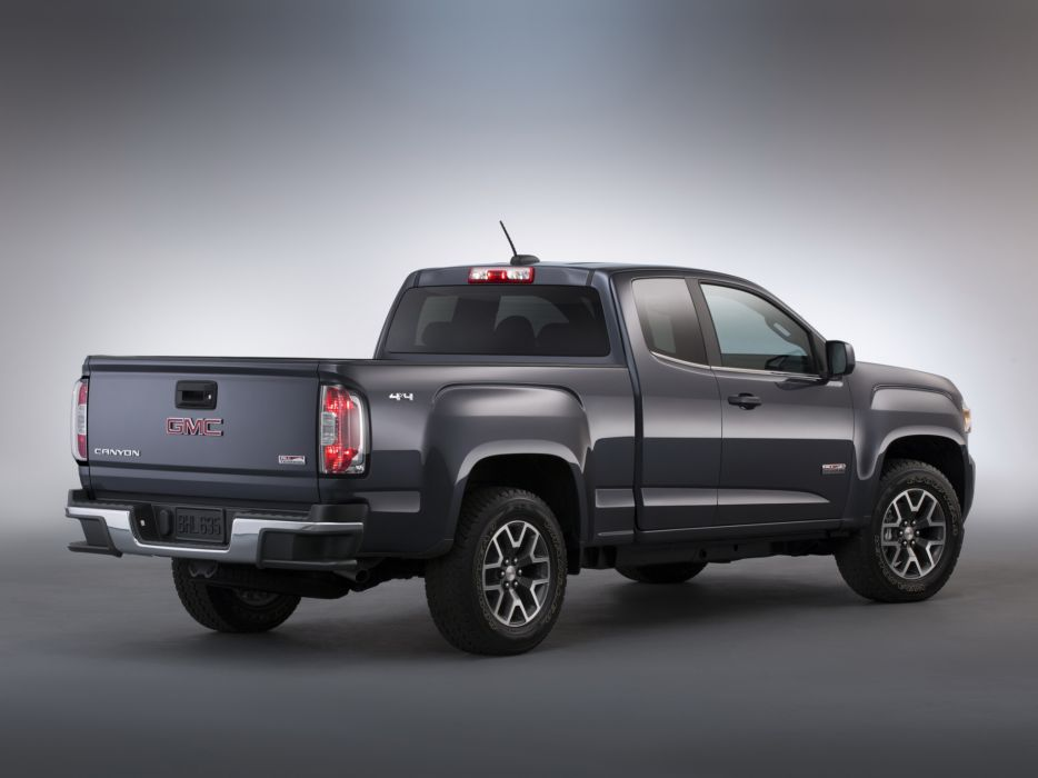 2014 GMC Canyon All Terrain Extended Cab pickup 4x4       f wallpaper